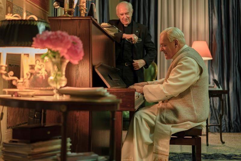 The Two Popes film eleştirisi için kullanılan ikinci resim.